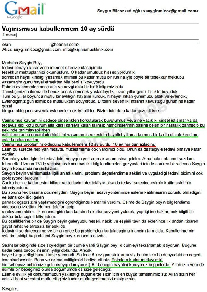 vajinismus tedavisi istanbul
